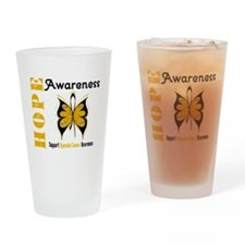 Appendix Cancer Drinking Glass