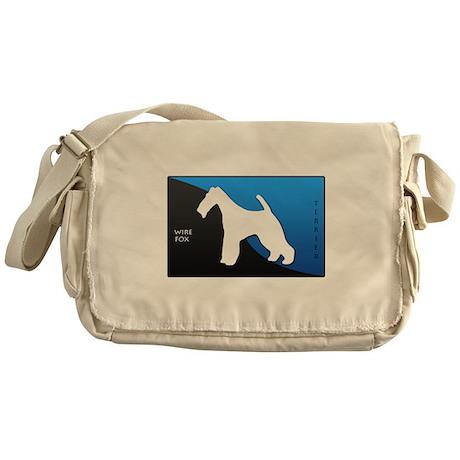 Wire Fox Terrier Messenger Bag