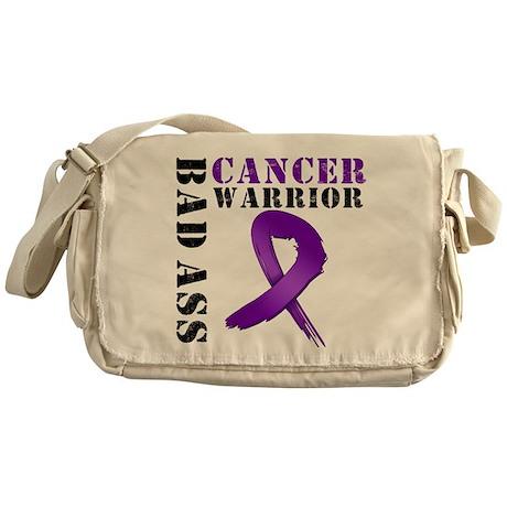 PancreaticCancer Warrior Messenger Bag