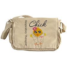 Respiratory Therapist Chick Messenger Bag