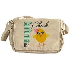 California Chick Messenger Bag