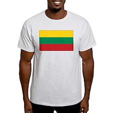 Lithuania Flag Ash Grey T-Shirt
