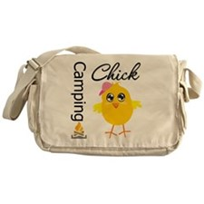 Camping Chick Messenger Bag