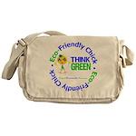 Eco-Chick Go Green Messenger Bag
