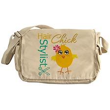 Hair Stylist Chick v2 Messenger Bag