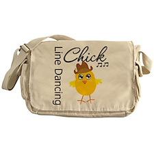 Line Dancing Chick Messenger Bag