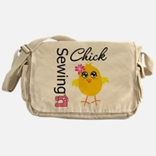 Sewing Chick Messenger Bag
