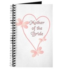 Mother Of The Bride Pink Hear Journal