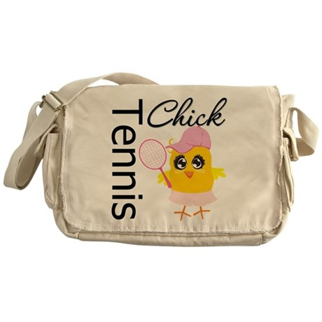 Tennis Chick Messenger Bag