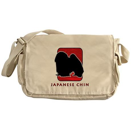 Japanese Chin Messenger Bag