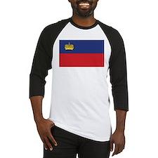 Liechtenstein Flag Baseball Jersey