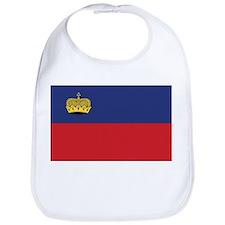 Liechtenstein Flag Bib