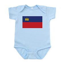 Liechtenstein Flag Infant Creeper