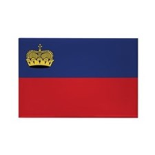 Liechtenstein Flag Rectangle Magnet