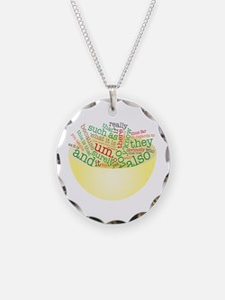 Word Salad Bowl Necklace