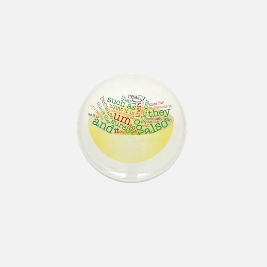 Word Salad Bowl Mini Button