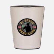 SUBDUED ALQEADA HUNT CLUB Shot Glass