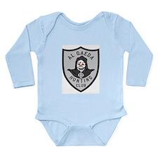 Cute Afghanistan Long Sleeve Infant Bodysuit
