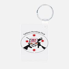 ionfidel taliban hunting club Keychains