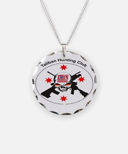 ionfidel taliban hunting club Necklace