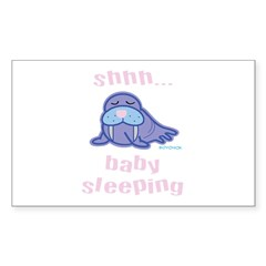 Baby Max - Sleeping Decal