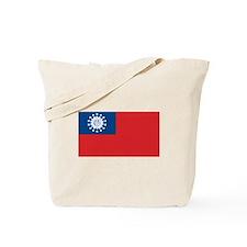 Flag of Myanmar Tote Bag