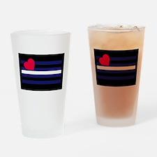 BDSM Flag - Drinking Glass