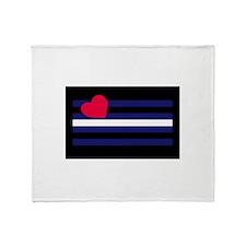 BDSM Flag - Throw Blanket