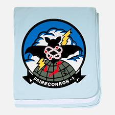 VQ-1 Squadron baby blanket