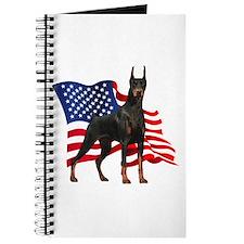 American Flag Doberman Journal