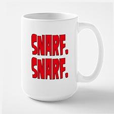 Snarf. Snarf. Large Mug