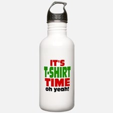 Oh Yeah Tee Shirt Time Water Bottle