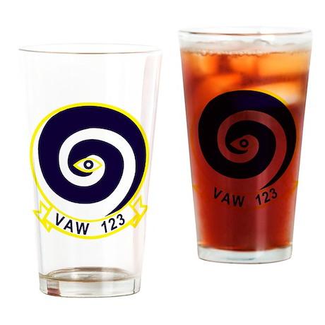 VAW-123 Drinking Glass
