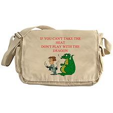dragon joke Messenger Bag