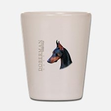 Doberman Shot Glass