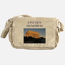lincoln memorial washington g Messenger Bag