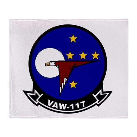 VAW-117 Throw Blanket