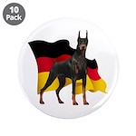 German Flag Doberman 3.5