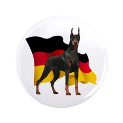 German Flag Doberman 3.5