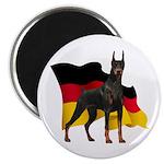 German Flag Doberman 2.25