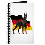German Flag Doberman Journal