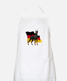 German Flag Doberman Apron