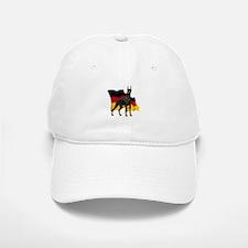 German Flag Doberman Baseball Baseball Cap