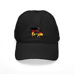 German Flag Doberman Black Cap
