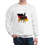 German Flag Doberman Sweatshirt