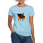German Flag Doberman Women's Light T-Shirt