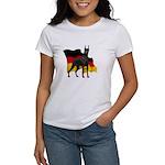 German Flag Doberman Women's T-Shirt
