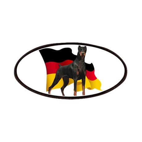 German Flag Doberman Patches
