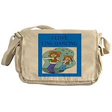 line dancing gifts and t-shir Messenger Bag