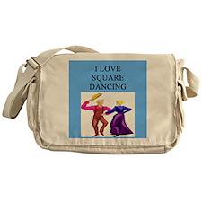 square dancing gifts Messenger Bag